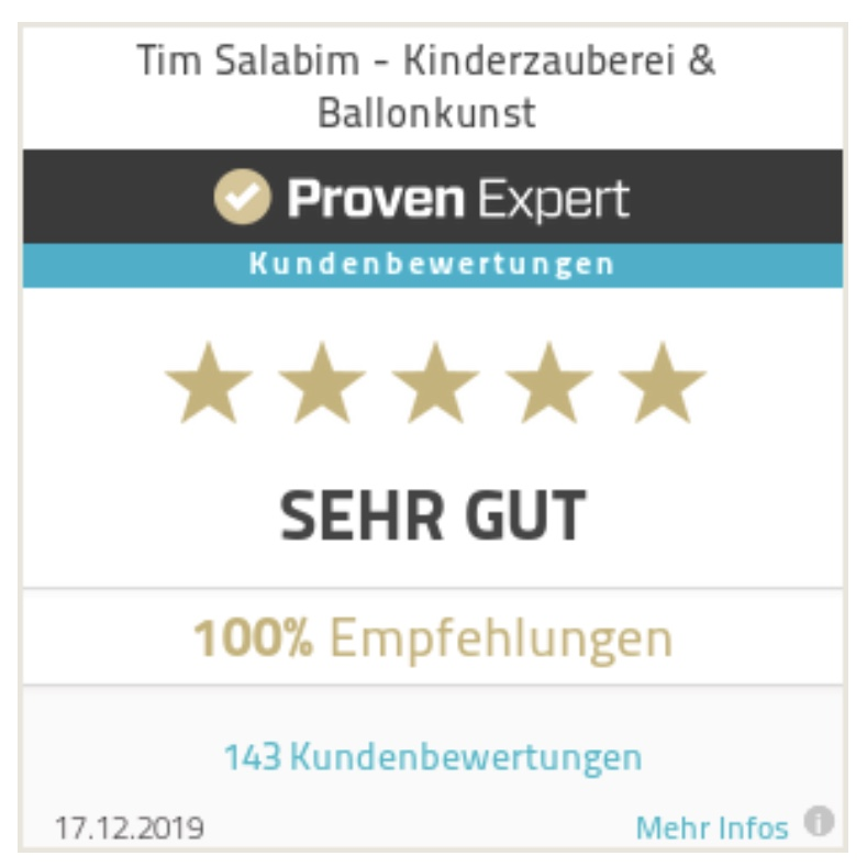 Bewertung Tim Salabim