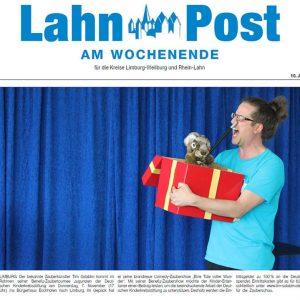 Zeitungsartikel in der Lahn-Post