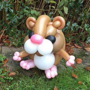 Ballon-Hamster